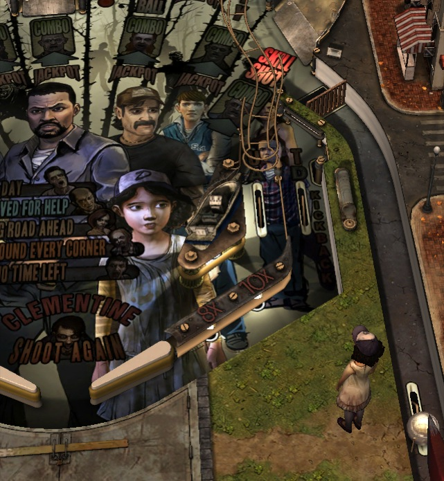 The Walking Dead Pinball is great fun