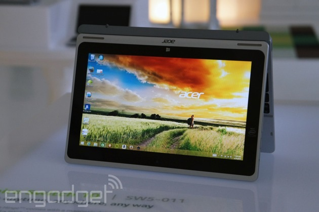 Acer's Switch 10 is a shape-shifting tablet with four display modes