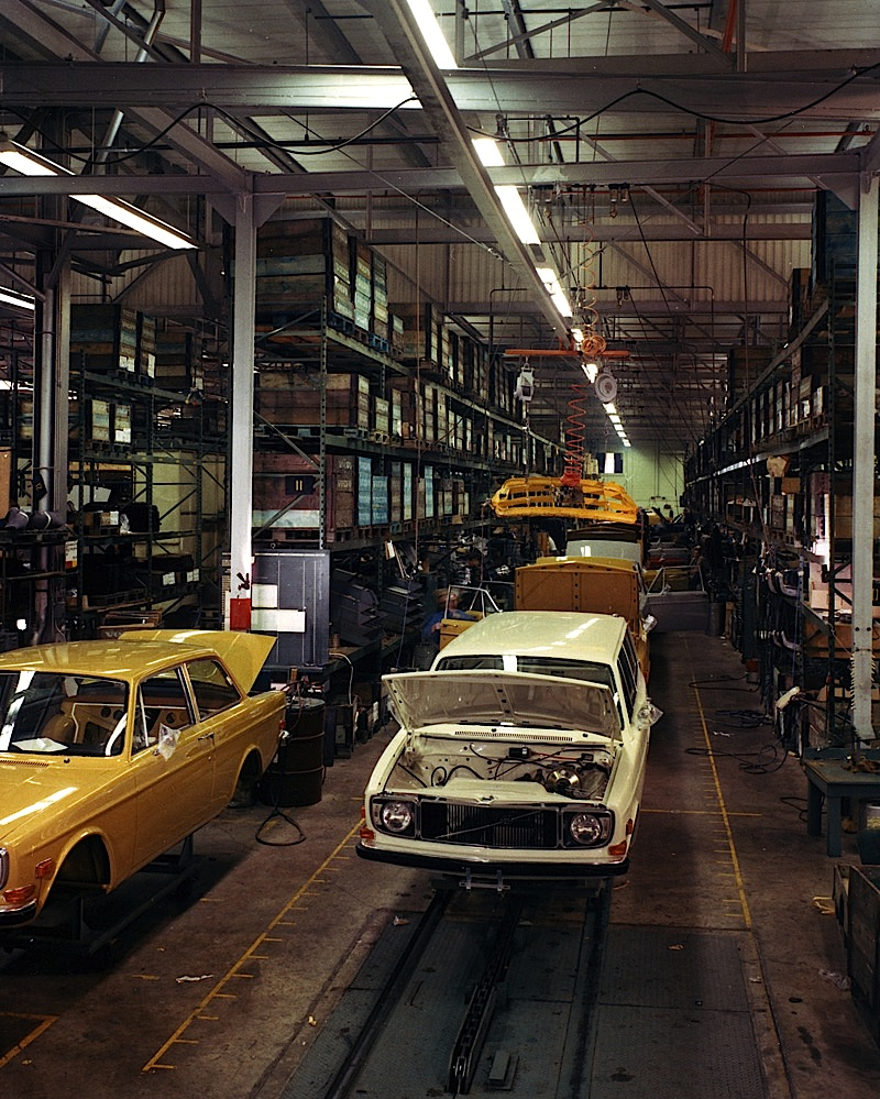 1960s volvos being built at halifax assembly in canada