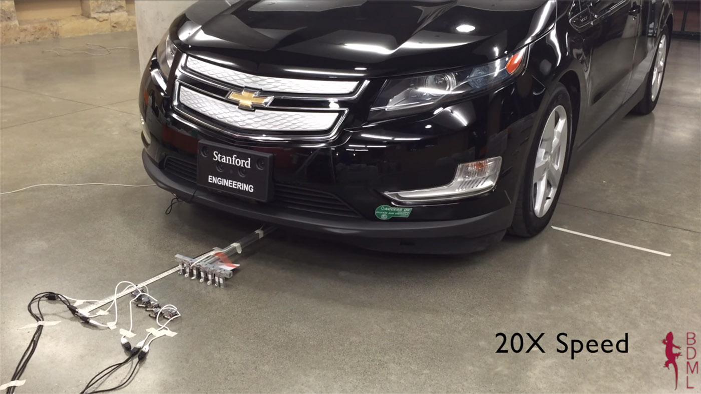 Estos minirobots pueden mover un coche de casi 2 toneladas