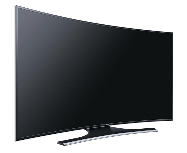 samsung weitet curved design auf der fernseher der serie 7. Black Bedroom Furniture Sets. Home Design Ideas