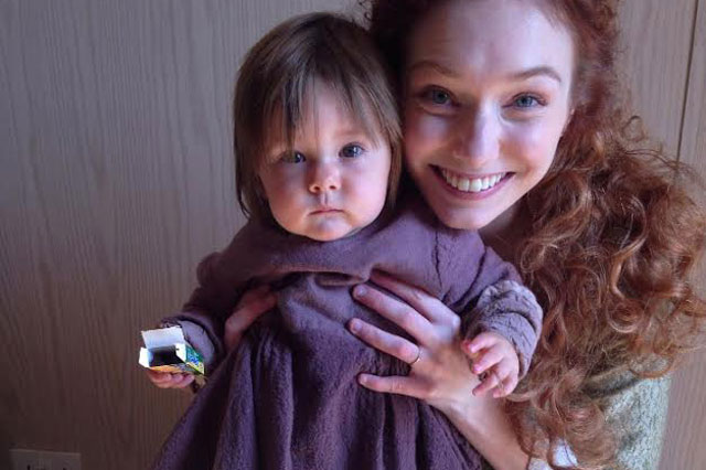Poldark baby who died in emotional TV finale is a real-life survivor after being born nine weeks prematurely