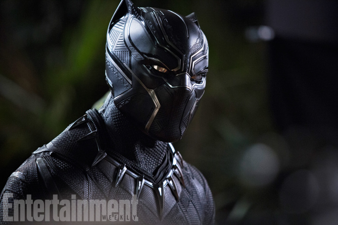 Marvel Studios' BLACK PANTHER<br /> T'Challa/Black Panther (Chadwick Boseman)<br /><br /> Credit: Matt Kennedy/©Marvel Studios 2018