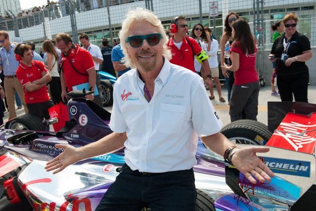 ヴァージン・グループ会長のリチャード・ブロンソン氏が、フォーミュラEのリザーブ・ドライバーを務めることに!