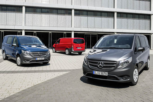 Mercedes rolls out versatile new Vito van