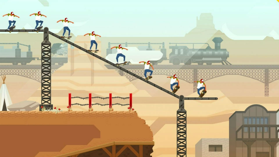 JXE Streams: Grinding rails with 'OlliOlli 2' developer Roll7