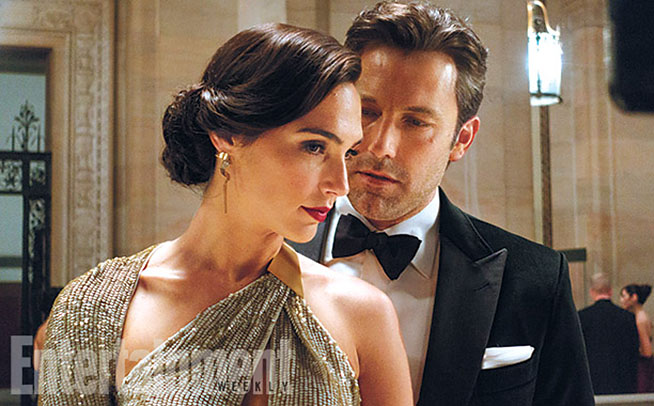Ben Affleck and Henry Cavill face off in new 'Batman vs. Superman' photos
