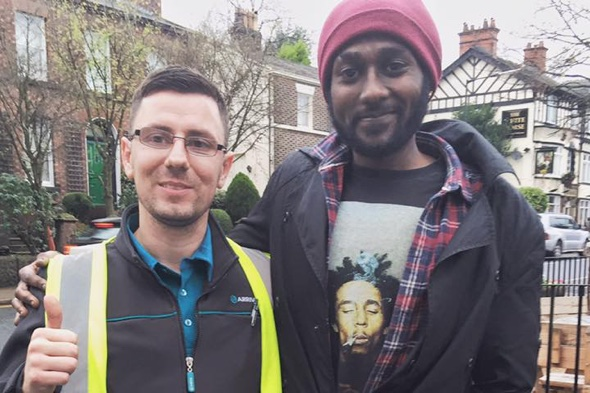 Bus driver that gave £5 to homeless man gets Christmas surprise