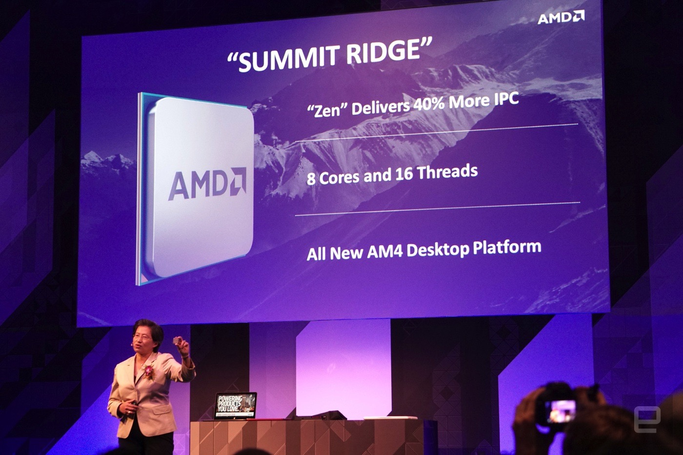 AMD is releasing the Zen 'Summit Ridge' CPU later this year