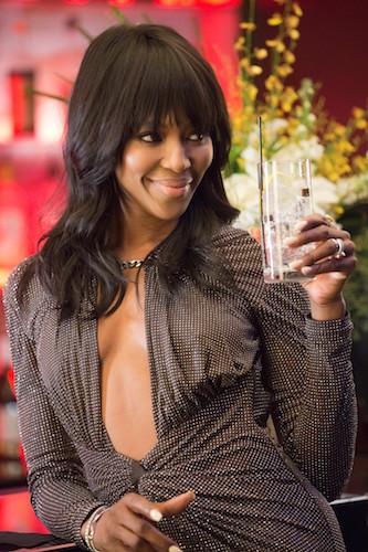 "EMPIRE: Camilla (guest star Naomi Campbell) attends a showcase in the ""Our Dancing Days"" episode airing Wednesday, Feb. 18 (9:01-10:00 PM ET/PT) on FOX. ©2014 Fox Broadcasting Co. CR: Chuck Hodes/FOX"