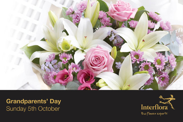 WIN a stunning Interflora bouquet worth £30 this Grandparents Day!