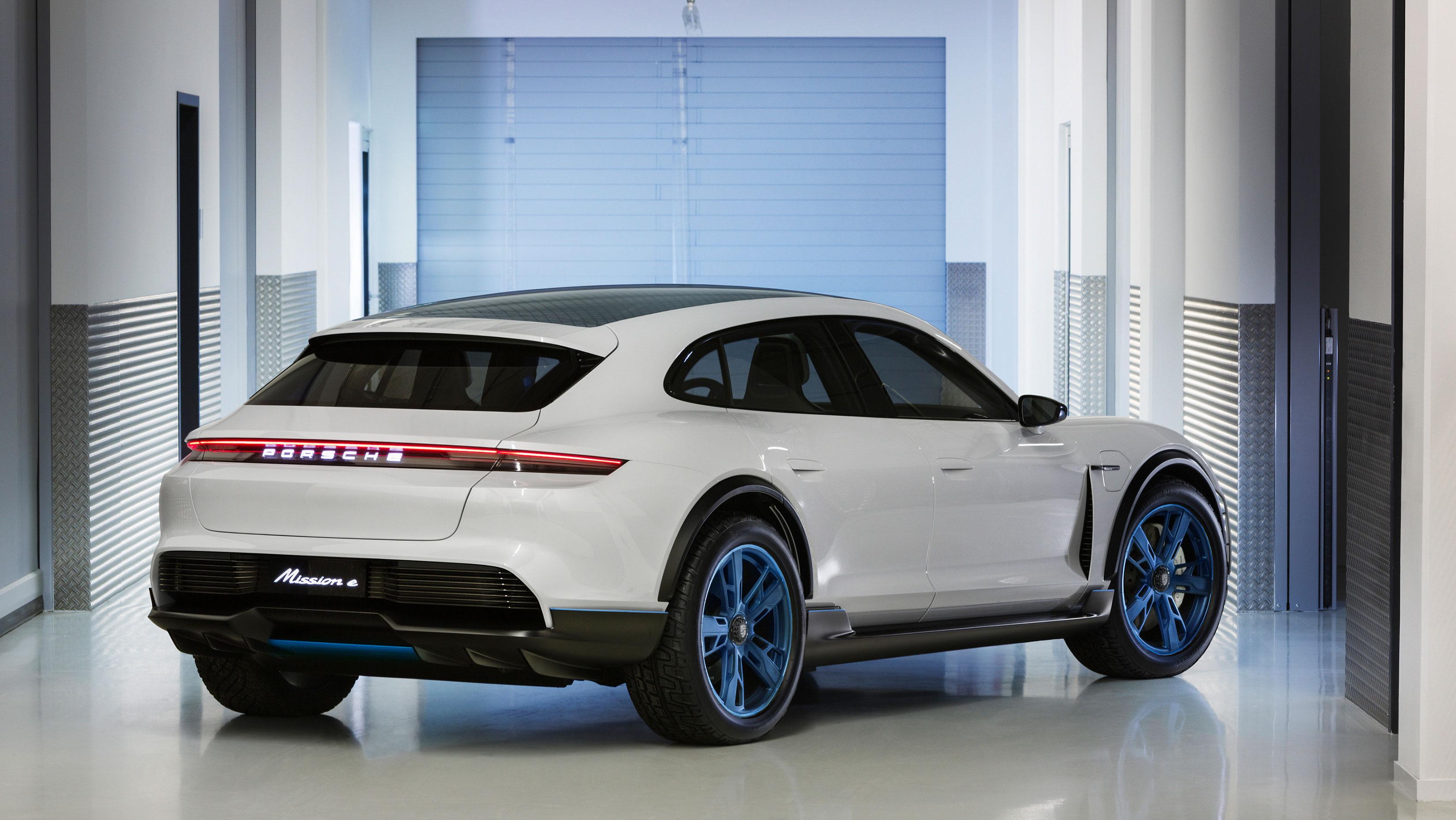 Mission E Cross Turismo, la respuesta a lo grande de Porsche a Tesla