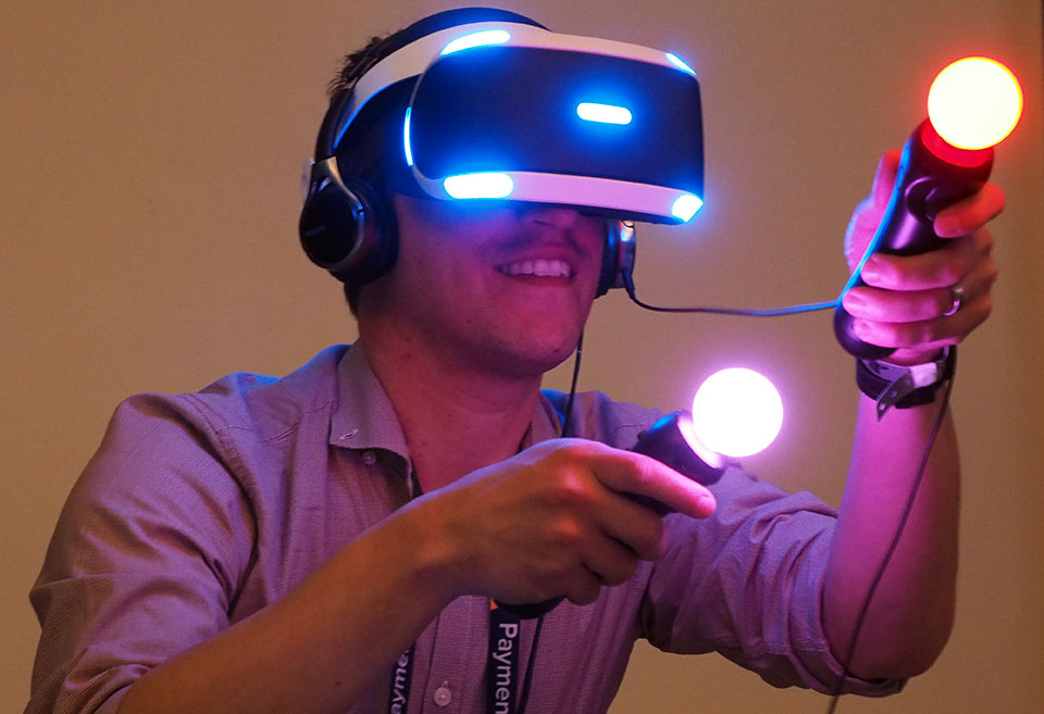 The new Project Morpheus at GDC 2015