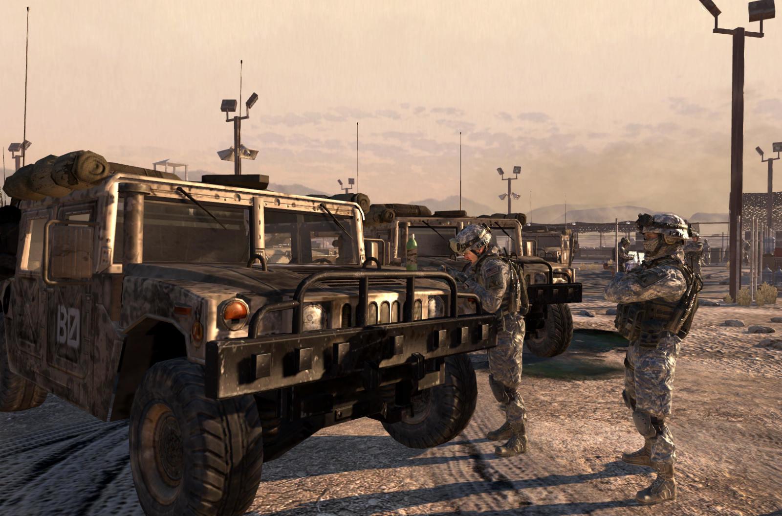 Call of Duty: Humvee verklagt Activision