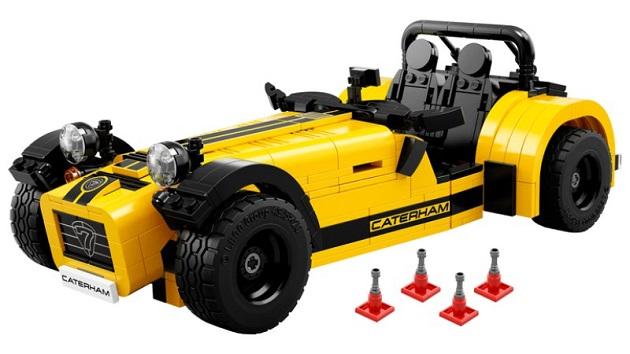 ケータハム「セブン 620R」もレゴなら手軽に買えるし組み立てられる!