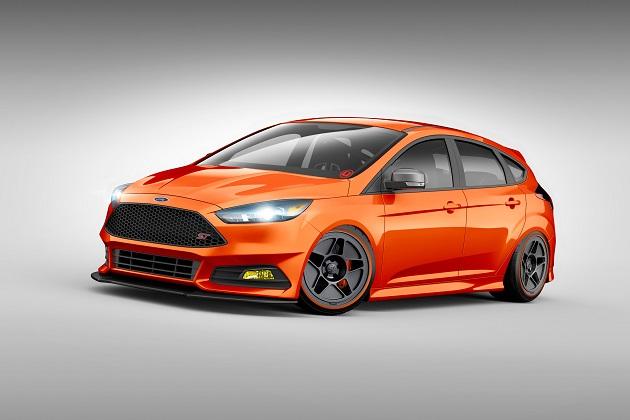 フォード、SEMAショー向け「フィエスタ」と「フォーカス」のSTラインナップを公開
