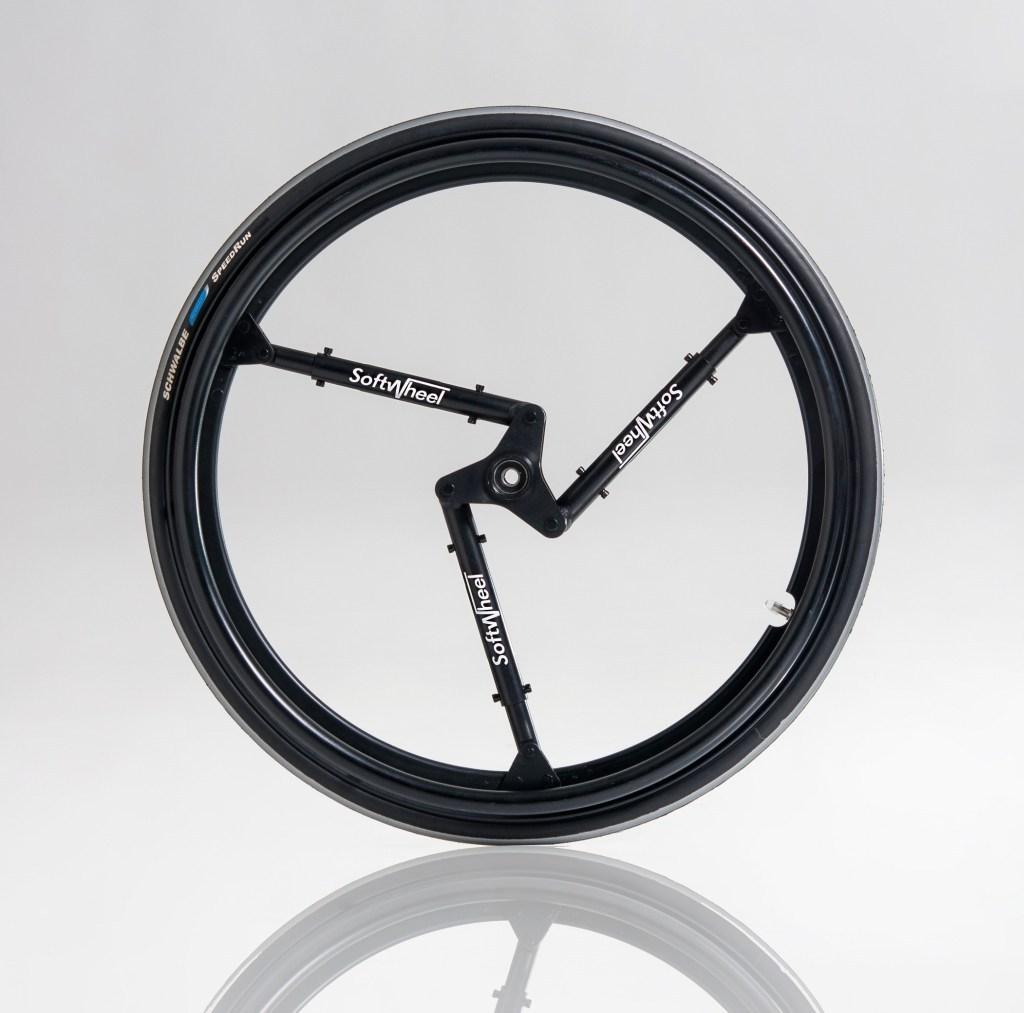Softwheel, Rad, Reifen, gefederter Reifen, video, Acrobat, der gefederte Reifen, Radnabe, Fluent, Rollstuhl, bike, revolutionär