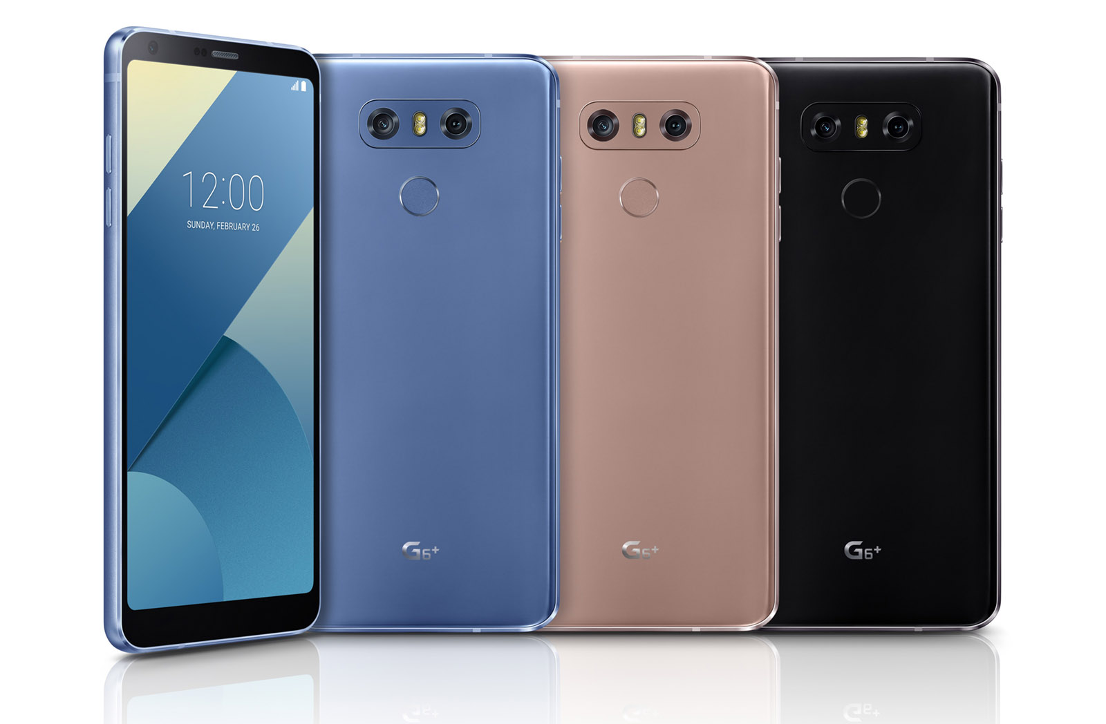 photo image LG's enhanced G6+ has more storage and premium sound