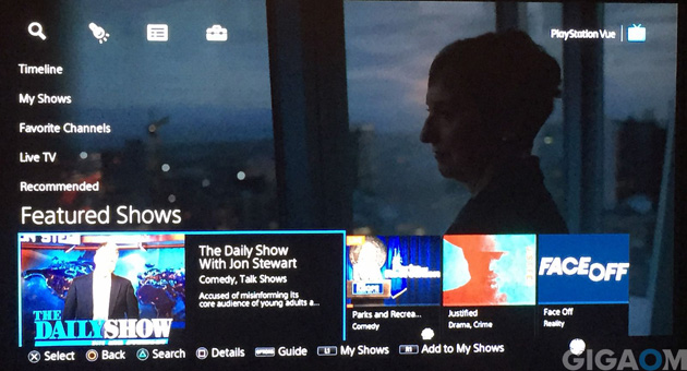 Here's what Sony's PlayStation Vue TV service is like in real life