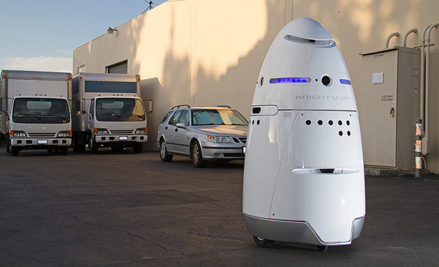 Autonomous, human-sized security robots are almost here
