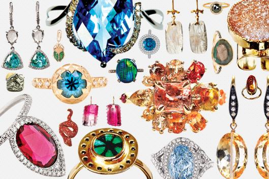 25 pieces of eye-catching gemstone jewelry