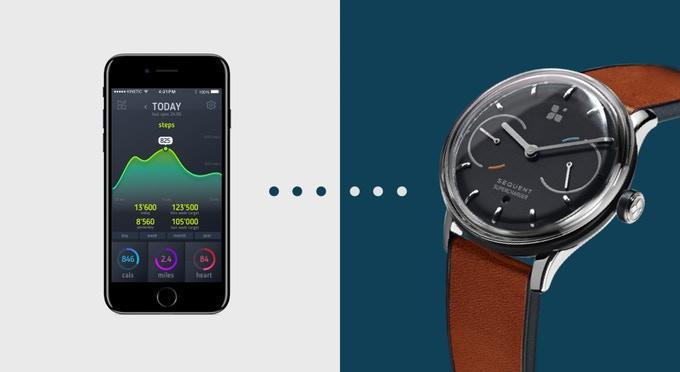 Sequent: Selbstladende Schweizer Smartwatch