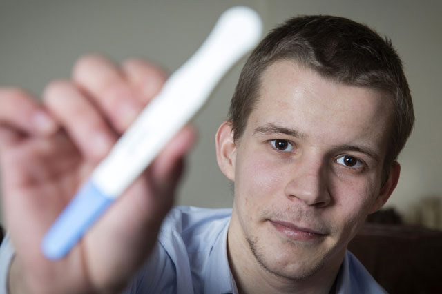 Teenager diagnosed with testicular cancer after taking pregnancy test
