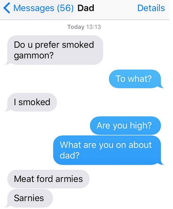 Texts That Prove Your Relatives Are Just Trying To Get On Your Level