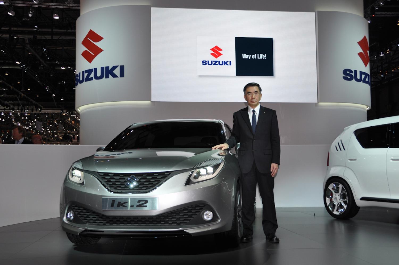 SUZUKI「iK-2」「iM-4」Jeneva2015