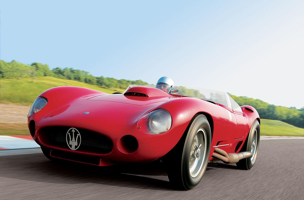 1956 maserati 450S prototype by fantuzzi, auktion, unterm Hammer,  juan manuel fangio, maserati, Fangio, maserati 450S, maserati 450S prototyp fantuzzi, monaco, rm auctions, Klassiker, historischer Rennsport, featured, ghistorischer motorsport, teuerste Autos aller zeiten, der teuerste Maserati