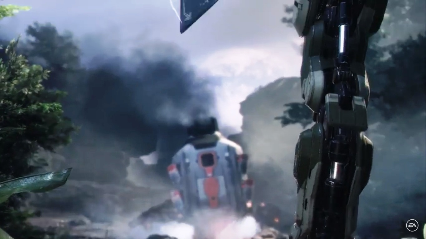 The first Titanfall 2 teaser has landed!