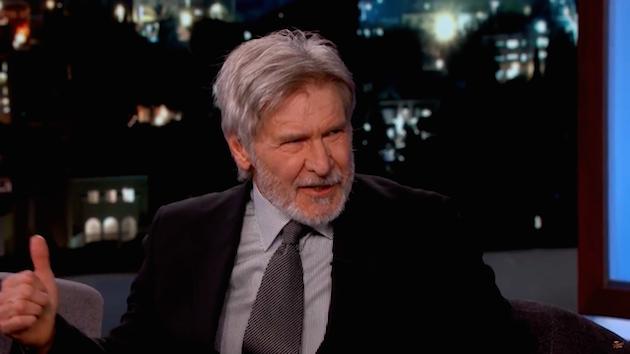 Kommt Han Solo zurück? Harrison Ford bei Jimmy Kimmel (Video)