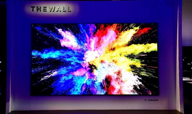 The Wall: Samsung präsentiert 146 Zoll-Fernseher mit 8K
