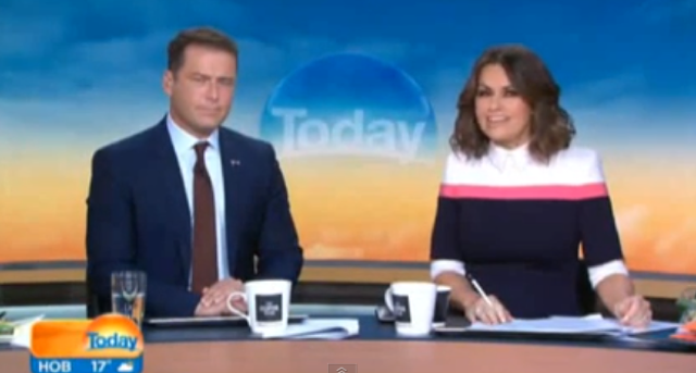 TV anchor wears same suit for a year - and nobody notices