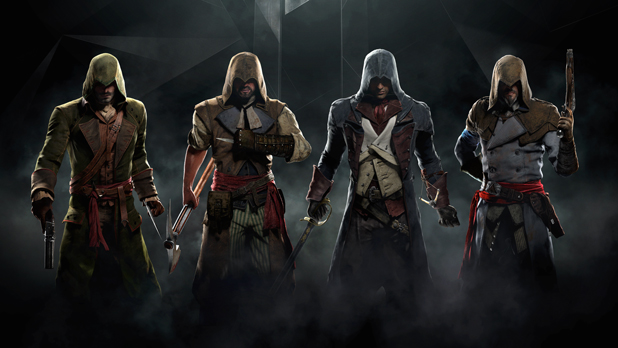 Unlock additional outfits in Assassin's Creed Unity