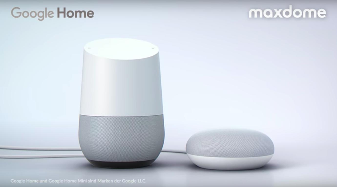 Maxdome und ProSieben-App erlauben Sprachsteuerung mit Google Home