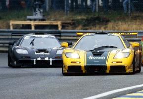 McLaren F1 GTR at Le Mans