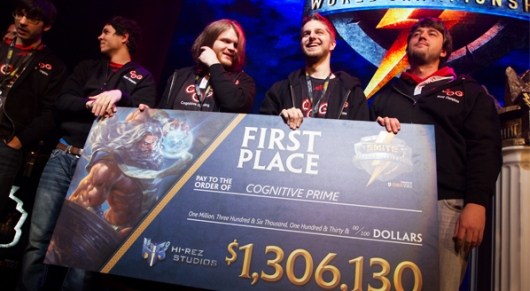 SMITE world champions receive million dollar prize, new character revealed