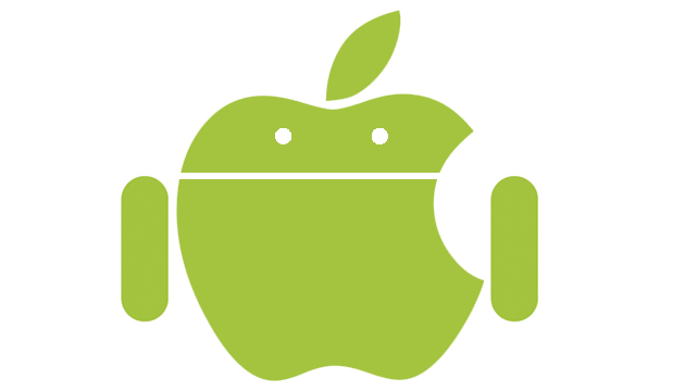 android apple logo