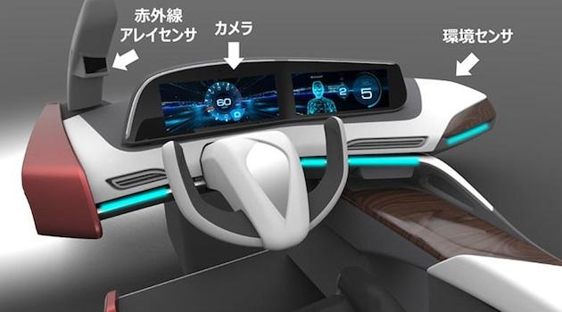運転者の眠気を感知し、眠くならない車内に調整する技術をパナソニックが開発