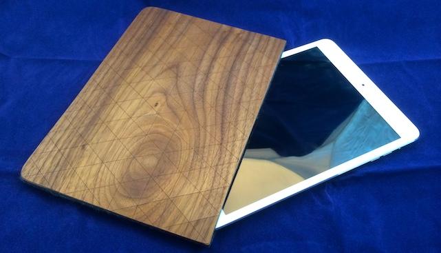 Grovemade Walnut iPad Sleeve (Photo by Steven Sande)