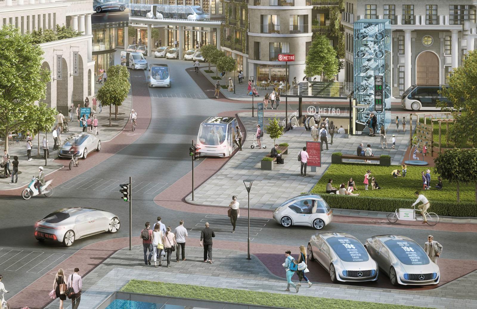 Daimler testet mit Bosch autonome Taxis in den nächsten Monaten