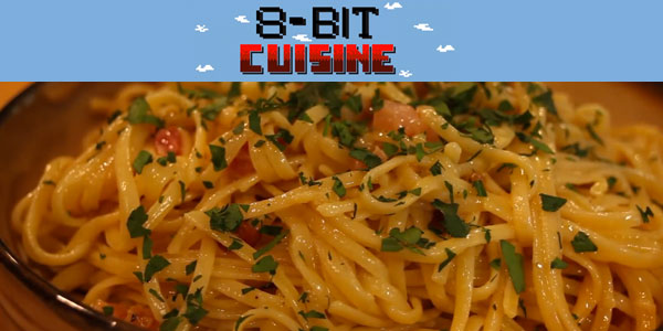 8-bit Cuisine: The Sims-inspired pasta carbonara