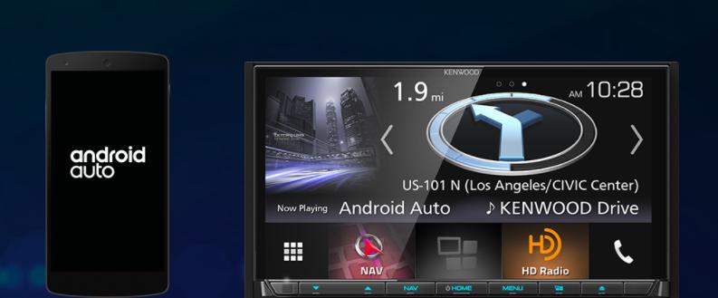 Kenwood bringt drahtloses Android Auto zur CES