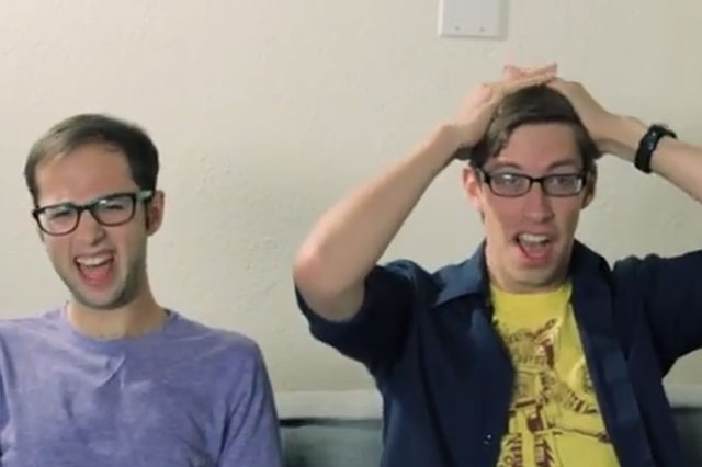 men watch childbirth for the first time