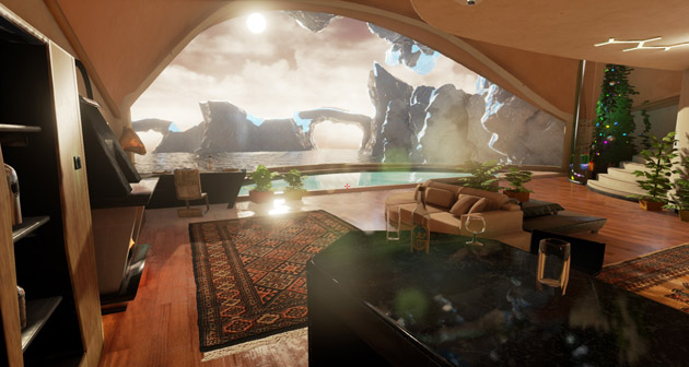 Hyperrealistic virtual reality adventure Loading Human headed to Oculus Rift and Project Morpheus