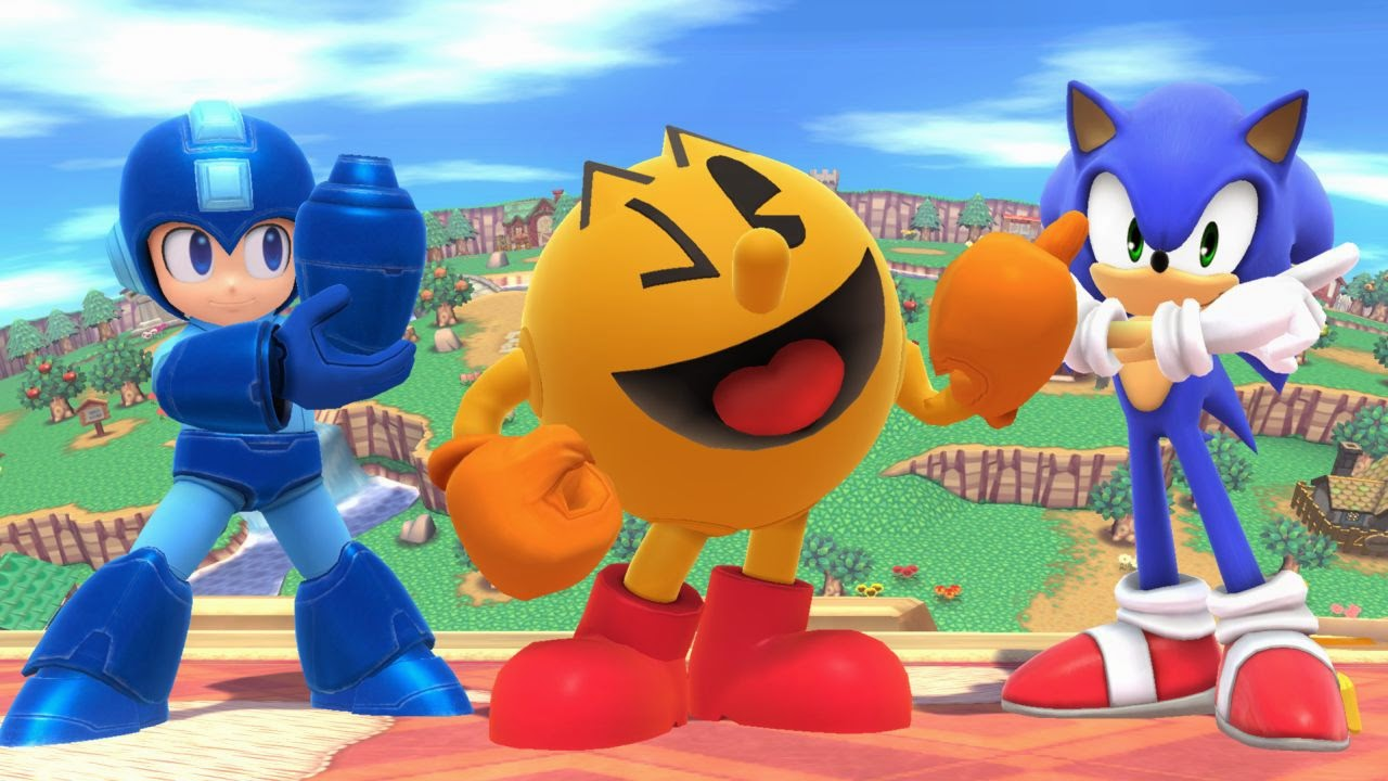 Pacman, Megaman, and Sonic: Our Smash Bros. Reactions