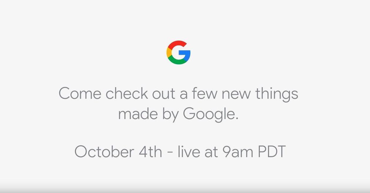 Sigue en directo el evento de los nuevos Pixel de Google