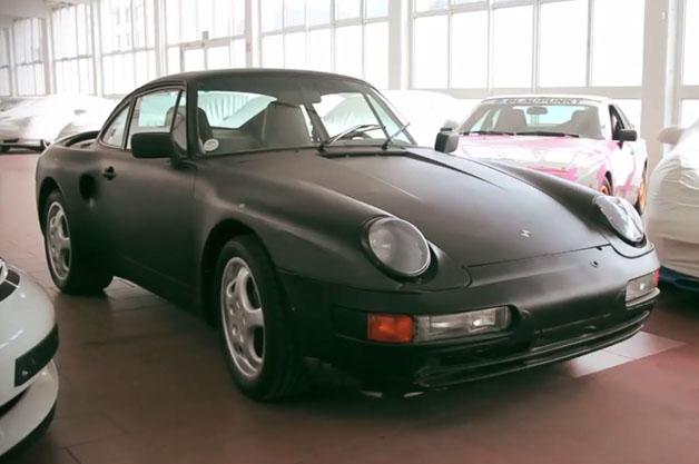 【ビデオ】ポルシェが1980年代に製造したV型8気筒エンジン搭載の「911」