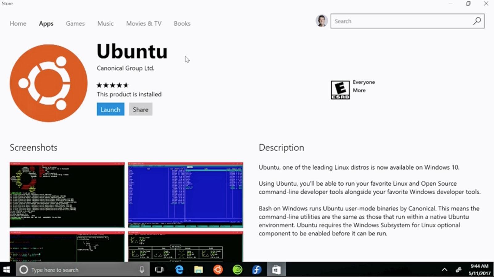 Microsoft ofrecerá tres distribuciones Linux en la Windows Store